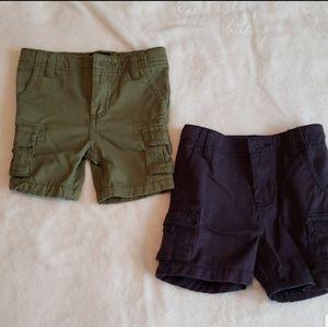Baby gap cargo shorts